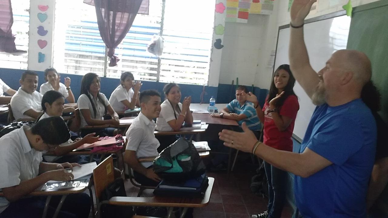 El salvador classroom