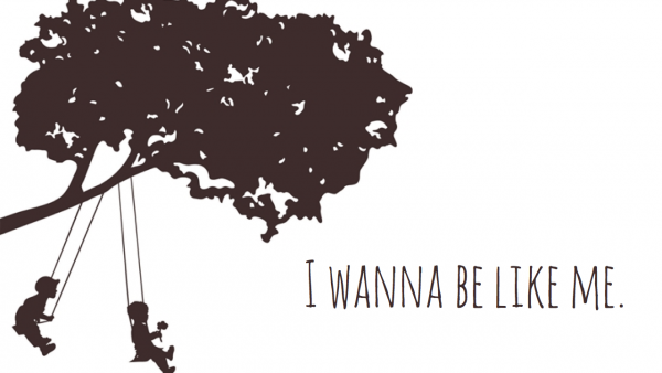 I Wanna Be Like Me- Logo