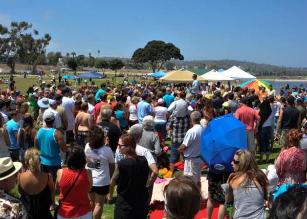 BIG BEACH BAPTISM